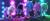 코로나19 여파로 극장과 VOD 동시 개봉한 할리우드 애니메이션 '트롤: 월드 투어'. 뮤직비디오 같은 화면과 히트 팝송이 주크박스처럼 흐른다. [사진 유니버설 픽쳐스]
