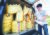 지난 8일 인천시 강화군 석모리 해안가 진입로에서 쌀을 담은 페트병을 공개하는 박정오 큰샘 회장. 박 회장 등은 페트병을 바다에 띄워 북한에 보내려 했으나 주민의 반발로 실패했다. [연합뉴스]