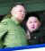 김정일 전 북한 국방위원장이 지난 2010년 10월 후계자인 김정은 국무위원장과 함께 있다. [AP=연합뉴스]