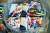 """북한 노동신문이 지난 20일 '대남 삐라(전단) 살포를 위한 준비 사업이 맹렬히 추진되고 있다""""며 지면에 실은 사진. 문재인 대통령 얼굴이 담긴 전단 더미 위에 담배꽁초와 담뱃재 등이 흩뿌려져 있다. [노동신문=뉴스1]"""