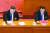 지난달 28일 베이징 인민대회당에서 열린 전인대 폐막식에서 시진핑 중국 국가주석(왼쪽)과 리커창 총리가 홍콩 국가보안법 결의를 표결하고 있다. [AFP=연합뉴스]