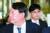 윤석열 검찰총장이 지난해 9월 인천 파라다이스시티 호텔에서 열린 마약류퇴치국제협력회의에 당시 조국 법무부 장관 일가 수사를 총괄했던 한동훈 대검 반부패강력부장과 참석했던 모습. [뉴스1]
