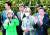 북한으로 끌려가 강제노역을 한 뒤 탈북한 국군포로 한모씨(오른쪽)와 변호인단이 7일 서울중앙지방법원 앞에서 기자회견을 하고 있다. 앞줄 왼쪽은 박선영(전 국회의원) '물망초 국군포로 송환위원회' 이사장. [뉴스1]
