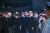지난달 25일 서울공항에서 열린 6ㆍ25전쟁 70주년 추념식. 문재인 대통령과 부인 김정숙 여사가 참석했다. [청와대사진기자단]