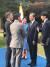 """필립 터너 주한 뉴질랜드 대사가 지난해 10월 19일 트위터에 """"제 남편 히로시와 함께 주한외교단 초청 리셉션에서 문재인 대통령과 영부인을 뵙게 돼 커다란 영광이었다""""며 올린 사진. [트위터]"""
