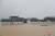 10일 장시성 포양호 인근이 홍수로 인해 물에 잠겼다.[중신망 캡처]