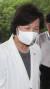 추미애 법무부 장관이 10일 오전 경기 정부과천청사에 있는 법무부로 출근하고 있다. [연합뉴스]