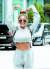 최근 일상복으로 운동복 같은 회색 트레이닝복을 즐겨 입는 가수 제시. [뉴스1]