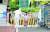 수도권에서 확산 중인 코로나19가 전국적으로 번지며 방역 당국이 긴장하고 있다. 17일 대전의 한 보건소에서 의료진이 검사받으러 온 시민을 향해 소독약을 뿌리고 있다. 프리랜서 김성태