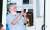 지난 17일 전광훈 서울 성북구 사랑제일교회 담임목사가 서울 성북구 자신의 사택 인근에서 구급차량에 탑승하고 있다. 뉴스1