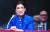 긴즈버그가 1993년 7월 20일 미국 의회의 대법관 후보 인사청문회에 나섰던 모습. [로이터=연합뉴스]