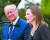 트럼프 미국 대통령이 26일 백악관에서 에이미 코니 배럿 판사를 연방 대법관에 지명했다. 배럿 지명자가 인사말을 하고 있다. [UPI=연합뉴스]