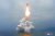 2019년 10월 발사된 SLBM 북극성 3호. [신화=연합뉴스]