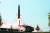 북한이 이동식 발사차량(TEL)에서 단거리 미사일을 발사하고 있다. 한미 연합군은 이때 나오는 각종 전파를 잡아내 분석한다. [조선중앙TV]