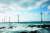 2017년 11월부터 가동 중인 제주도 한경면의 30㎿ 규모 탐라해 상풍력발전 단지. 3㎿ 풍력발전기 10기로 약 2만4000 가구에 전기를 공급할 수 있다.