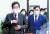 이낙연 더불어민주당 대표(왼쪽)와 김태년 원내대표가 19일 오전 서울 여의도 국회에서 열린 최고위원회의에 참석하고 있다. 오종택 기자
