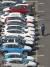 정부가 30일 현대자동차 울산공장에서 '미래자동차 확산 및 시장선점 전략'을 발표했다. 사진은 27일 현대차 울산공장 수출 선적부두 옆 야적장에 완성 차량이 대기하고 있는 모습. 연합뉴스