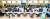 2006년 '청약 열풍'이 불었던 판교신도시 청약 현장의 모습. 이번 과천 지식정보타운과 하남 감일지구는 온라인으로 청약을 받는다. [중앙포토]