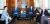 2014년 9월 중앙일보를 방문해 홍석현 회장(맨 왼쪽)과 이야기를 나누고 있는 토머스 도닐런 전 백악관 국가안보보좌관(맨 오른쪽). 블링컨, 라이스, 도닐런은 바이든 행정부 초대 국무장관으로 거론된다. [중앙포토]