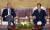 2001년 8월 11일 김대중 대통령이 청와대에서 당시 미상원외교위원장이었던 조 바이든 제 46대 미국 대통령 당선자를 접견하고 있다. [청와대사진기자단]