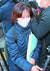 이날 법정으로 향하는 박은정 법무부 감찰담당관. 우상조 기자