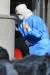 20일 경북 포항시 북구보건소 신종코로나 바이러스 감염증(코로나19)선별진료소에서 시민들이 코로나19 검체 검사를 받고 있다. 뉴스1