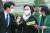 정경심 동양대 교수가 23일 서울지방법원에서 열린 1심 선고 공판에 출석하고 있다. 우상조 기자