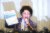 일본군 위안부 피해자 이용수(92) 할머니가 지난 5월 대구에서 윤미향 전 정대협 상임대표(민주당 비례 의원)와 정의기억연대의 비리 의혹 등을 폭로하는 기자회견을 하고 있다. [연합뉴스]