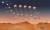 퍼서비어런스가 화성에 안착하는 과정을 그린 상상도 . [로이터=연합뉴스]