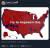 2016년 당시 대선 이후 소개 됐던 지도 시각화 중 하나. 로이터에 따르면, 트럼프 대통령은 이 지도를 취임 100일 인터뷰 당시 기자들에게 한 장씩 쥐어 줬다고 한다. 트럼프가 지난해년 10월에 올린 트위터 캡처.