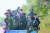 카렌족 반군 '카렌민족동맹' 소속 병사들. 미얀마 중남부 카인 주와 카야 주의 산악지대를 근거지로 활동하는 이들은 군부 쿠데타에 반대해 반정부 투쟁을 벌이고 있다. [로이터=연합뉴스]