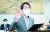 조희연 서울시교육감이 15일 서울 여의도 국회에서 열린 교육위원회의 서울,인천,경기 교육청 국정감사에서 선서를 하고 있다.