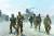 지난 2015년 8월 아프가니스탄 낭가하르주 코넬리 기지에 주둔한 미군의 모습. AFP=연합뉴스