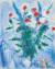 마르크 샤갈 '붉은 꽃다발과 연인들' 1975년. [사진 국립현대미술관]