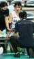 지난 3월 챔피언결정전 3차전에서 발목 부상을 당해 교체된 강소휘 [연합뉴스]
