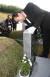 2007년 5월 13일, 당시 한나라당의 대선 경선을 준비하던 이명박 전 서울시장이 광주 국립 5.18민주묘지를 찾아 참배했다. 이 전 시장이 故 홍남순 변호사의 묘 앞에서 묘비를 살펴보고 있다. 오종택 기자