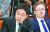 금태섭 전 더불어민주당 의원이 2019년 9월 6일 오전 서울 여의도 국회에서 열린 국회 법사위 조국 법무부 장관 후보자 인사청문회에서 후보자에게 질문을 하고 있다.