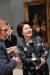 김정숙 여사가 2018년 10월 19일 오후 벨기에 브뤼셀 왕립미술관에서 열린 한국어 오디오가이드 개시 기념식을 마친후 작품을 관람하고 있다. 청와대 제공