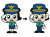변경 전(왼쪽)과 후 포순이. 사진 경찰청