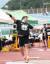 27일 정선에서 열린 전국육상경기선수권 남자 투포환 우승을 차지한 정일우. [사진 대한육상연맹]