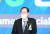 권기홍 동반성장위원회 위원장이 '중앙ESG 경영대상' 시상식에서 축사를 하고 있다. 김경록 기자