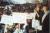 2000년 분당 부당용도변경 반대 집회 참석한 이재명 경기지사(오른쪽 끝). 이재명 지사 측 제공