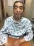 이외수 작가의 아들이 공개한 부친의 투병 모습. 이외수 작가는 지난해 3월 뇌출혈로 쓰러졌다. 인터넷 캡처