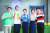 방송인 붐(왼쪽부터)과 허재, 가수 장윤정, 발레무용가 윤혜진, 배우 이종혁이 6월 1일 온라인 생중계로 진행된 JTBC 새 예능 프로그램 '내가 나로 돌아가는 곳-해방타운' 제작발표회에 참석해 포토타임을 갖고 있다. '해방타운'은 혼자만의 시간과 공간이 절실한 기혼 셀러브리티들이 그동안 잊고 지냈던, 결혼 전의 '나'로 돌아가는 모습을 그린 관찰 예능 프로그램이다.[뉴스1]