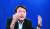 윤석열 전 검찰총장이 14일 오후 서울 상암동 중앙일보에서 인터뷰를 하고 있다. 김경록 기자