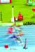 도쿄올림픽은 계측 신기술이 집약된 '스마트 올림픽'다. 육상 선수 등번호에 모션 센서가 부착돼 위치와 속도를 파악할 수 있다. [사진 오메가]