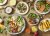 채소와 과일, 빵 등이 주를 이루는 다양한 샐러드 메뉴. 사진 SPC그룹