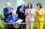 26일 백악관 로즈가든에서 열린 미국 장애인법(ADA) 제정 31주년 행사에서 기념 선언문에 서명하는 조 바이든 대통령. [AP=연합뉴스]
