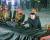 정전협정 체결 68주년인 27일 자정 6·25 전쟁 전사자 묘역인 '조국해방전쟁 참전열사묘'를 참배하는 김정은 북한 국무위원장. [연합뉴스]