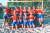 반바지를 입고 유럽 비치핸드볼 선수권에 출전한 노르웨이 대표팀. [SNS 캡처]
